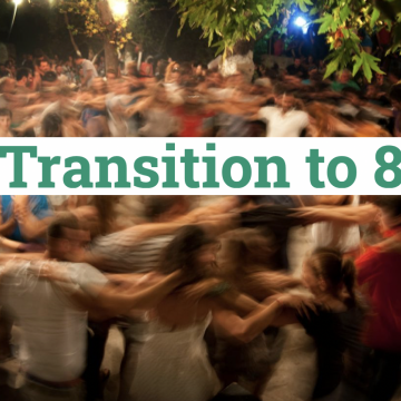 Transition to 8